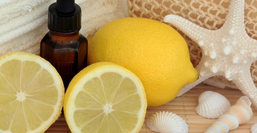Wyczyść cały dom buteleczką olejku z cytryny!